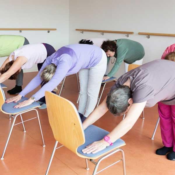 Image of Chair yoga