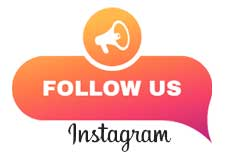 Follow Us on Instagram graphic